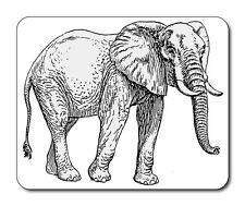 Éléphant tapis de souris-faune