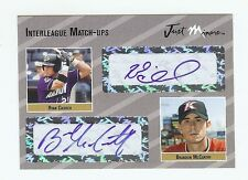 RYAN CHURCH - BRANDON McCARTHY 2005 Certified Dual Autograph xx/25