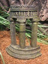 FFF-821 Resin Aquarium Columns Fish Tank Hide Ornament Reptile ruins egyptian