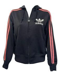 adidas trefoil Rainbow Logo Zip Up track jacket vintage women's