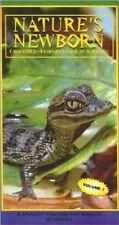 Nature's Newborn Crocodile,Leopard,Ground Squirrel, Volume 7, VHS