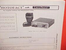 1976 JCPENNEY CB RADIO SERVICE SHOP MANUAL MODEL 981-6213 (981-0649) JC PENNEY