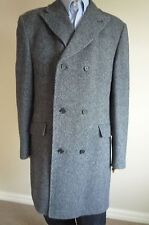Genuine - 100% Wool - DAKS of London 3/4 Trench / Over Coat  - Size XL / 46 / 56