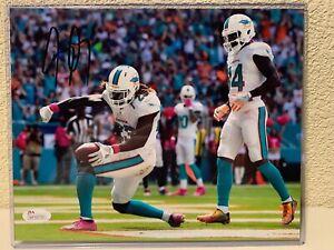 Jay Ajai Signed Miami Dolphins 8x10 Photo JSA