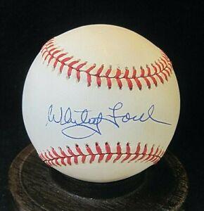 Whitey Ford Signed OAL Baseball JSA Certified, HOF, New York Yankees d.2020