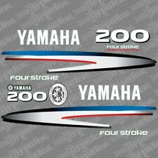 Yamaha 200 four stroke outboard (2002-2006) decal aufkleber addesivo sticker set