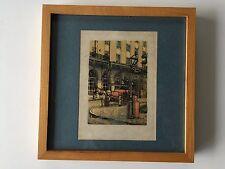Paul de la Fille New Orleans Serigraph Print, Numbered & Signed, 35/300, Framed