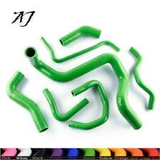 For VW MK4 GOLF / BORA / Jetta 1.8t AUM AUQ Silicone Radiator Coolant Hose Green