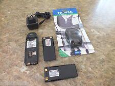 Nokia 6310 Schwarz Jet mit Tischadestation Autotelefon für Mercedes Audi BMW Vw