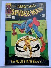 Amazing Spider-Man # 35 Second Molten Man!  Ditko!