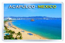 ACAPULCO MEXICO FRIDGE MAGNET SOUVENIR IMAN NEVERA