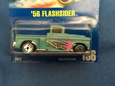 Vintage 1956 CHEVY APACHE Flashsider Carded Hot Wheels Diecast Toy Truck No. 136