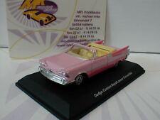 Best of Show 87060 # Dodge Custom Royal Lancer Cabrio Baujahr 1956 pink 1:87
