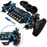 Alloy & Carbon Shaft Drive 1/10 RC 4WD Touring Car Frame Kit for TT01 TT01E