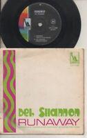 "DEL SHANNON    Rare 1961 Australian Only 7"" OOP Mono Liberty P/C EP ""Runaway"""