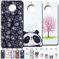 Cute Soft Skin Back Protective Clear TPU Rubber Silicone Case Cover For Motorola