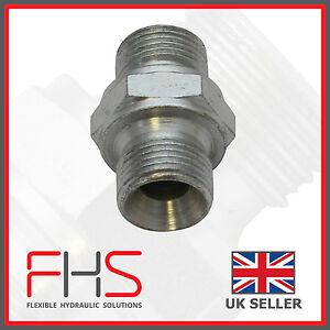 BSP Male/Male Adaptor Various Sizes Available