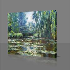 CLAUDE MONET Water Lilies Monet's Garden 2 Large Canvas Art Picture Print Art