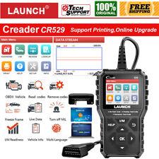 LAUNCH X431 CR529 Automotive Diagnostic Scanner OBD2 Code Reader Emission Test