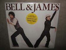 BELL & JAMES Self S/T Titled PROMO SEALED New Vinyl LP Livin It Up Friday Night