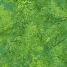 Sea Green on Yellow, Malam Batiks,  Jinny Byer,  RJR Fabrics  (By 1/2 yd)
