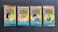 (x1) Pokemon Booster Pack English Gym Heroes  Factory Sealed