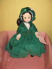 Madame Alexander Scarletts Jubilee 1500 Doll green gown Gone with the Wind