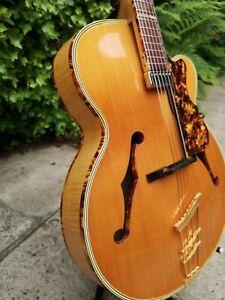 Vintage 60s Rodebald Hoyer Jazzstar archtop jazz guitar