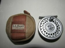 ORIGINALE VINTAGE Hardy LL Bean GUIDE 3/4 Marchese 4 Trota Fly Fishing Reel Case