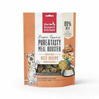 The Honest Kitchen Proper Toppers: Dog food - Ranch Raised Beef 5.5oz