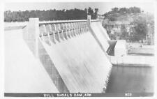 RPPC BULL SHOALS DAM White River, Arkansas ca 1950s Vintage Postcard