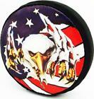 Hot Racing 1/10 Scale American Eagle Spare Tire Cover - SCX10 HRASCX36117E