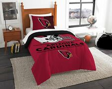 Arizona Cardinals Twin Comforter & Sham(s) Set (Draft) Official Nfl
