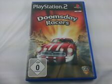 Doomsday Racers Sony PlayStation 2 2005 DVD Box PS2 PAL Spiel Game guter Zustand