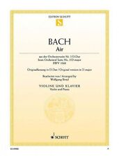 Air from Orchestral Suite No. 3 in D Major BWV 1068 Arranged for Violi 049019713