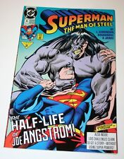 Superman The Man of Steel Comics October 1991 Issue # 4