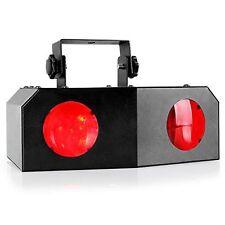 Música Activo Dual Giratoria LED de escenario Iluminación Club DJ Fiesta Disco Luces Casa