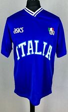Italy Padel National Team Asics Shirt Men's Size XL Jersey Rare Made In Italy