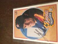 1990 Nolan Ryan upper deck autograph bold🔥🔥🔥🔥🔥🔥