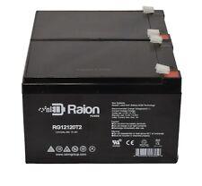 Sealed Lead Acid Battery for EZIP E Zip Scooter 400 500 650 750 900 12V 12AH 2PK
