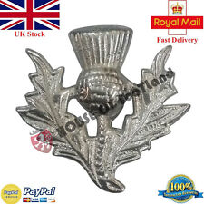 Highland Wear Balmoral Cap Badge Thistle Crest/Thistle Badge For Glengarry Caps