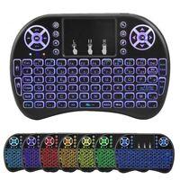 New Rii mini i8+ Wireless Black Keyboard for Computer Laptop Tablet