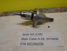 Akai GX-210D Reel To Reel Main Case A 24, w/metal P/N MZ296256 Used
