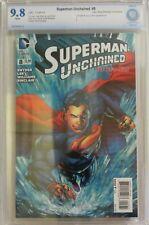 Superman Unchained #8 - Ivan Reis Retailer Variant 1:50 - CBCS 9.8 (NOT CGC)