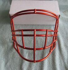 Riddell Speedflex Metallic Orange Football Face Mask Meets Nocsae Standard