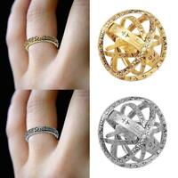 Astronomical Sphere Ball Ring Cosmic Finger Ring Couple Lover Lucky Ring