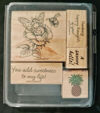 Rubber Stamp Craft Paper Card Cards Stamping Scrapbooking Phrases Fairy Art