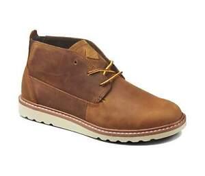 Reef Mens Brown Leather Waterproof Voyage Boot LE