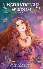 Inspirational Wisdom From Angels Fairies Deck Cards Booklet Cat ResQ