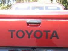 "TOYOTA TAILGATE  Vinyl Decal Sticker Emblem Logo Graphic  BLACK 31"""